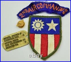 2nd Air Commandos Aaf Us Army Air Force Patch Lot Ww2 Orginial Cbi Grouping