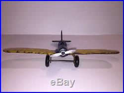Arcade #3640 Cast Iron Airplane US Army Air Force, Great Patina, Buy it Now