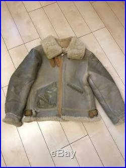 Avirex B-3 vintage flight jacket size 38 leather JACKET US ARMY AIR FORCE