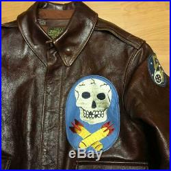 BUZZ RICKSON'S Type A-2 Flight jacket Air Force U. S. Army Imported from Italy