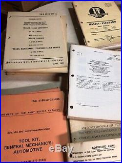 Bulk Lot Of 50s 60s US Army US Air Force Technical Manual Field Manual You Pick