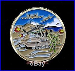 Desert Storm Veteran Challenge Coin Us Marines Navy Army Air Force Pin Up Gift