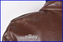Eastman Type A-2 Army Air Force US Army Leather Men Jacket Size 40 M