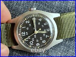 HAMILTON H3 US Army Military Pilot Air Force AF MIL-W-46374B August 1979 RUNS