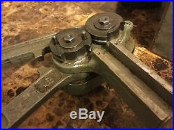 Kearney Swaging machine 6-5 with attachments US Army Air Force