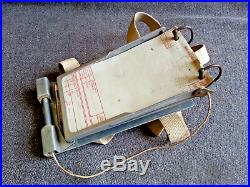 Kneeboard Air Message Pad with Scribe WW2 US Army Air Force Corps USAAF Bomber