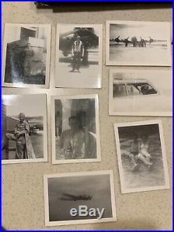 Large Original WWII US Army Air Force B-17 Pilot Photo Album 200+ Photos