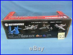 Motorworks US Army Air Force P-47 Fighter NEW RARE 1/18