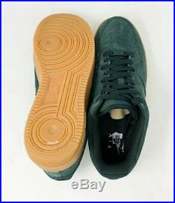 NIKE Air Force 1 07 LV8 Suede Shoes AA1117 300 Outdoor Green Men's US Size 10