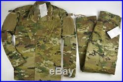 New US Army Air Force OCP Uniform Coat and Trouser Large Long USGI