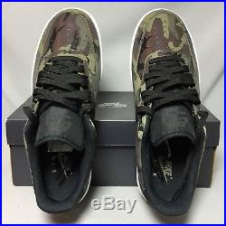 Nike Air Force 1'07 LV8 UK9 823511-201 Camo EUR44 US10 Camouflage Olive army 07