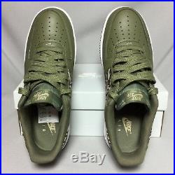 Nike Air Force 1 AOP PRM UK10 AQ4131-200 Camo EUR45 US11 Premium Camouflage army