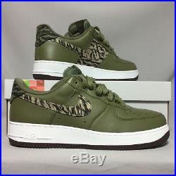 Nike Air Force 1 AOP PRM UK11 AQ4131-200 Camo EUR46 US12 Premium Camouflage army