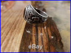 ORIG WWII USAAF PILOT RING US ARMY AIR FORCE Moody Field