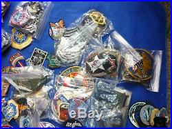Original 50 year patch collection usaf us army nasa and other types