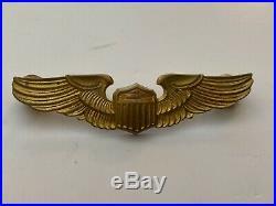 Pk421 Original WW2 US Army Air Force Civilian Flight Instructor Pilot Wings WA8