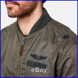 c3782920910 Polo Ralph Lauren Men MA1 Military Army US Air Force Flight Bomber Pilot  Jacket