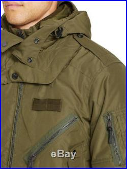 Polo Ralph Lauren Men Military US Army Flight Bomber Air Force Pilot Tech Jacket