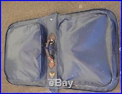 RARE VTG US Army Air Forces Bag Flyers Clothing Bag Type B-4A/DWG NO. 40K3719
