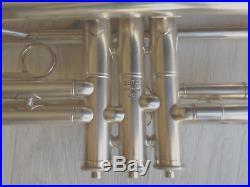 RARE trompette Reynolds trumpet 1942 U. S. Army Air Force ARGENT SUPERBE