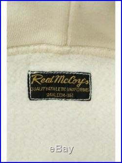 REAL McCoyS Hoodie U. S. ARMY AIR FORCES Long sleeve Cotton White Men's Japan F/S