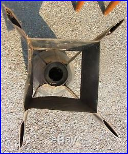Rare Us Army Air Forces Wwii Bomb Tail End Metal Man Cave USA Ww2 Army
