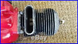 Righter Us Army Air Force Drone Target Engine-Wwii Ww2 Turns Freely
