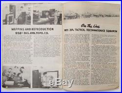 US ARMY AIR FORCES 8th RECONNAISSANCE GROUP ACTIVITY 1945 WWII YEARBOOK
