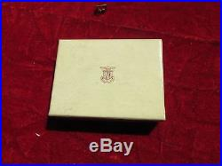 US Army Air Force AAF Pilot wing 2 inch Amico Sterling pin back in original box