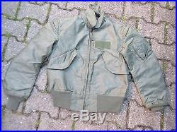 US Army Air Force Fliegerjacke Flight Jacket CWU 36/P USAF Vietnam Summer CWU #1