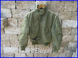 US Army Air Force Fliegerjacke Flight Jacket CWU 36P USAF Vietnam Cold Weather 2