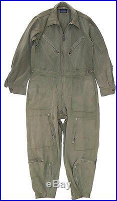 US Army Air Force L-1 Gabardine Light Flight Suit Coveralls