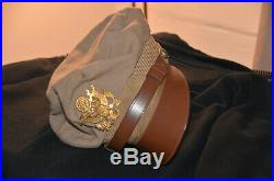 US Army Air Force World War 2 Pilot CRUSHER FLIGHT CAP Bell Uniform Company