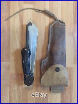 US WW II Imperial Army Air Force Survival Machete Knife -Folding/Military Korean