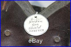 US WW2 Army Air Force Norden Bombsight Radar Sun Shield. Rare Piece
