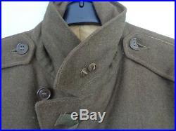 US WWII Uniformjacke M-1944 m. Abzeichen original vernäht Corporal Army/Airforce