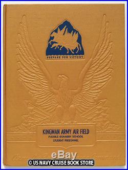 Us Army Air Forces Ww II Kingman Field Flexible Gunnery School Student Personnel