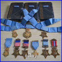 Us Orden Badge Medal Of Honor, Moh, Army, Navy, Air Force, 9 Orders, Rare