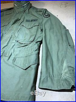 Vintage 1967 Field Jacket M-1965 M65 U. S. Army Air Force Medium R