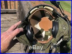 Vintage 1980s US Military Pilots Helmet US Air Force Army Navy (A5)