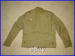 Vintage Original WW2 US Army Air Force M-41 Field Jacket Uniform Sz 38 -40