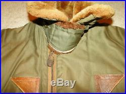 Vintage Original WW2 US Army Air Force issue B-15 A flight jacket