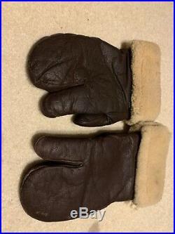 Vintage US Air Force WW II Gunner Gloves Air Force US Army Type A-9