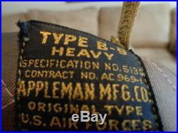 Vintage USAF US Army Air Force B-9 Parka Jacket