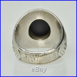 Vintage WWII US ARMY AIR FORCE Pilot Officer Sterling Silver Estate Ring