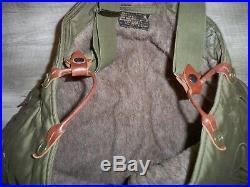 Vtg WW2 US Army Air Force A11 Flight Pants Uniform Trousers Bomber Pilot Bibs 32