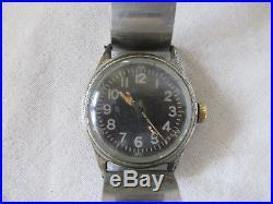 WW2 AF US ARMY AIR FORCES A-11 ELGIN Pilot MILTARY SIGNED back Original