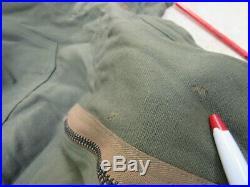 WW2 US AAF Flight Suit Army Air Force Flyers Suit Medium Regular Talon Zippers