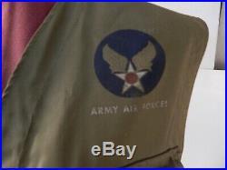 WW2 US Army Air Force PILOT's C-1 Sustenance SURVIVAL VEST