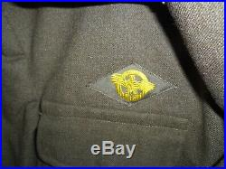 WW2 US Army Air Force USAAF 9th Air Force Aircrew Ike Jacket